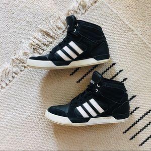 b9991c2bc1 Men Adidas Black And White High Tops on Poshmark